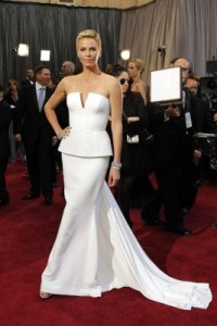 Charlize Theron in Christian Dior Haute Couture