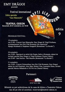 "Festivalul International ""Nopti Albe de Acordeon"" – La Bordei"