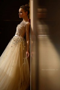 Tendinte de top in colectiile de rochii pentru mirese, la Bucharest Bridal Fashion Show