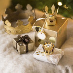 Ferrero ideas for decoration, festive ideas for decoration, Christmas decoration, tasteful Christmas, gift wrap, festive table, Advent traditions, Christmas traditions, Advent decorations